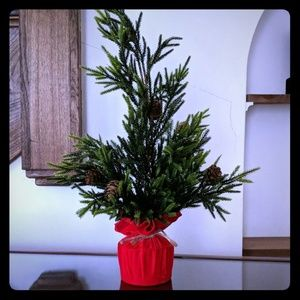 Small Artificial Tabletop Tree